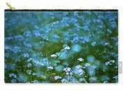 Forget-me-not Flower Patch Carry-all Pouch