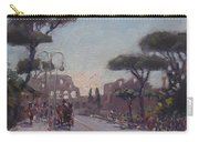 Fori Romani - Street To Colosseo Carry-all Pouch