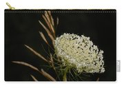 Formal Queen Anne's Lace Study Portrait Carry-all Pouch