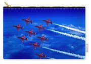 Formation Flying Britains Red Arrows Carry-all Pouch