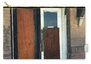 Former Waiting Room Doors Carry-all Pouch