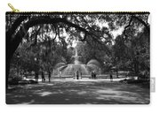 Forsyth Park Black And White Carry-all Pouch