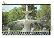 Forsyth Park Fountain Square Carry-all Pouch