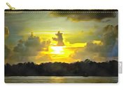 Fort Island Trail Sunset Carry-all Pouch