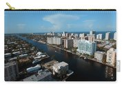 Fort Lauderdale Aerial Photography Carry-all Pouch