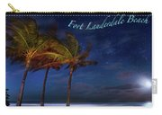 Fort Lauderdale Beach Greeting Carry-all Pouch