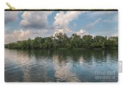 Fort Loudoun Sunset Carry-all Pouch by Todd Blanchard