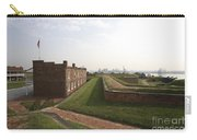 Fort Mchenry Earthworks And Barracks In Baltimore Maryland Carry-all Pouch