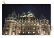 Fort  Of Quebec City At Night Carry-all Pouch