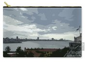 Fort River City Art Carry-all Pouch