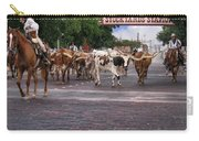 Fort Worth Cattle Drive Carry-all Pouch