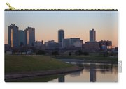 Fort Worth Skyline At Sunset Carry-all Pouch