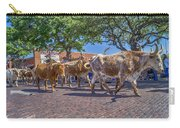 Fort Worth Stockyards Longhorn Drive Carry-all Pouch