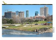 Fort Worth Trinity Park Carry-all Pouch