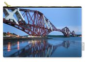 Forth Railway Bridge In Edinburg Scotland  Carry-all Pouch