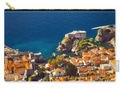 Fortress Of Dubrovnik From Above Carry-all Pouch