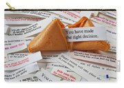 Fortune Cookie Sayings  Carry-all Pouch