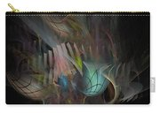 Fortune Willing - Fractal Art Carry-all Pouch