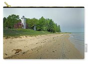 Forty Mile Point Lighthouse Springtime Carry-all Pouch