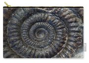 Fossil Ammonite - Dactylioceras Carry-all Pouch