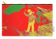 Fossil Hunter Red Yellow Green Carry-all Pouch