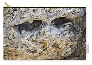 Fossil Rock Abstract - Eyes Carry-all Pouch