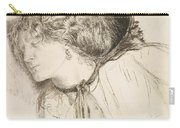 Found - Study For The Head Of The Girl Carry-all Pouch