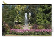 Fountain Among Flowers Carry-all Pouch