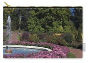 Fountain And Mums Carry-all Pouch