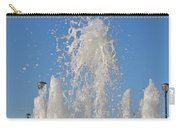 Fountain At Rhyl Carry-all Pouch