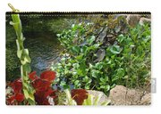 Fountain Flowers Carry-all Pouch