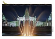 Fountain In Parc Du Cinquantenaire - Brussels Carry-all Pouch
