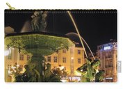 Fountain In Rossio Square Carry-all Pouch