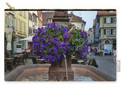 Fountain In Wertheim, Germany Carry-all Pouch