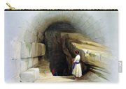 Fountain Of Siloam Valley Of Jehosophat 1842 Carry-all Pouch