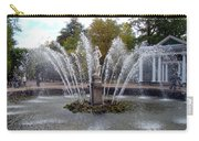 Fountain On The Grounds Of The Peterhof Grand Palace Carry-all Pouch