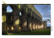 Fountains Abbey Shadows Carry-all Pouch