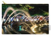 Fountains At Columbus Circle Carry-all Pouch