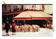 Fouquets Of Paris 1955 Carry-all Pouch