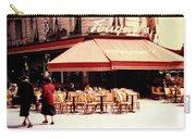 Fouquets Of Paris 1955 Carry-all Pouch