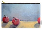 Four Apples Carry-all Pouch by Michelle Calkins