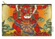Four Armed Dzambhala Carry-all Pouch