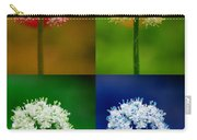 Four Colorful Onion Flower Power Carry-all Pouch