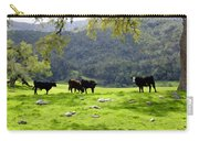 Four Cows At Nojoqui Ranch Carry-all Pouch