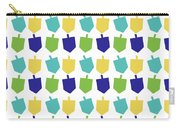 Four Dreidels Pattern- Art By Linda Woods Carry-all Pouch