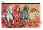 Four Horses Of The Apocalypse Carry-all Pouch