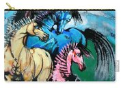 Four Horses Carry-all Pouch