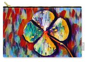 Four Leaf Clover Carry-all Pouch