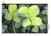 Four Leaf Clover Watercolor Carry-all Pouch