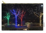 Four Lighted Trees Carry-all Pouch